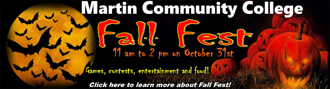 Fall Fest: October 31 from 11:00 AM to 2:00 PM. Games, food, and more.